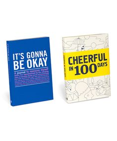 Look at this Cheerful in 100 Days Journal Set on #zulily today!