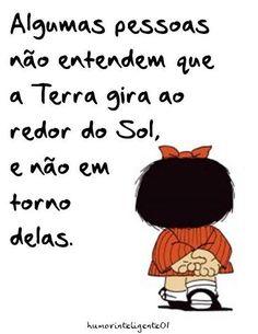 Mafalda sabe tudo...