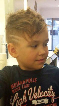 Love'n this cute haircut for a gorgeous little guy! Little mans haircut. Little boys haircut
