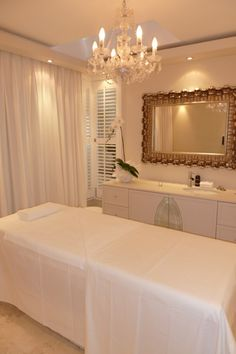 The gorgeous treatment room at The Banksia Sanctuary Spa - bliss!