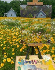 Painting Inspiration, Art Inspo, Art Hoe Aesthetic, Aesthetic Drawing, Arte Sketchbook, Pretty Art, Amazing Art, Amazing Nature, Painting & Drawing