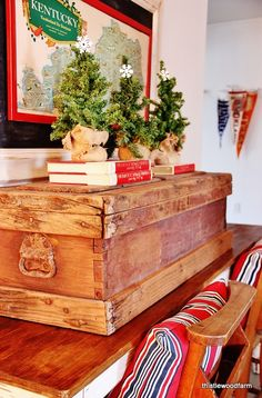Vintage Christmas in a 1918 Farmhouse #12daysofchristmas