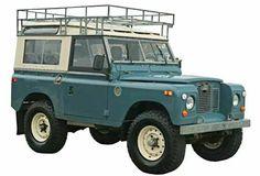 Land Rover 88 Serie III Sw safari top. Wonderful