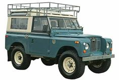Land Rover 88 Serie III Sw safari top. Wonderful