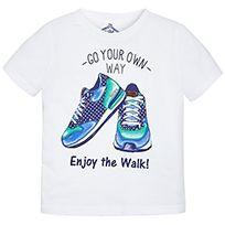 Camiseta manga corta zapatillas