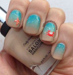 summer nail art designs 2015 | 18 Beach Nail Art Designs Ideas Trends Stickers 2015 Summer Nails 3 18 ...