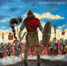 Illustrations of Dacia Thracia Phrygia 2019 Image Salvage Ancient Rome, Ancient Art, Ancient History, Tribal Images, Roman Legion, Celtic Warriors, Roman Era, Roman Soldiers, Medieval World
