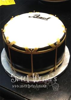 41 Best Drum Cake Images On Pinterest