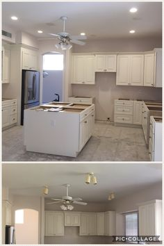 160 best az recessed lighting installations images on pinterest can lights redesigned layout installed 5 led recessed lights in kitchen installed and wired island receptacles customer still wanted ceiling fan aloadofball Choice Image