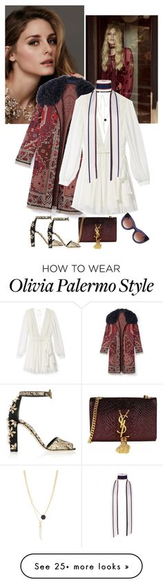 """""""Boho Chic"""" by loveraige on Polyvore featuring Beauty Secrets, Tory Burch, Rebecca Minkoff, Dolce&Gabbana, Yves Saint Laurent, Henri Bendel and Thierry Lasry"""
