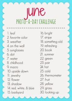 Kati's Corner: June Photo-a-day Challenge