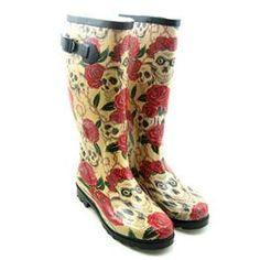 Wholesale REMAY Women Rose & Skull Pattern Rain High Boots Shoes - DinoDirect.com #dental #poker Wholesale Shoes, High Boots, Poker, Rubber Rain Boots, Dental, Shoe Boots, Skull, Pattern, Fashion