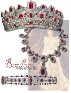 Joann, what about this one? The Magnificent Ruby and Diamond Necklace from the Crown Jewels of France Because of its distinguished provenanc...