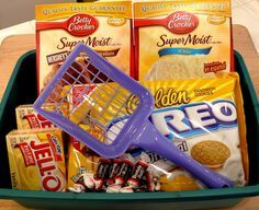 Recipes for litter box cake