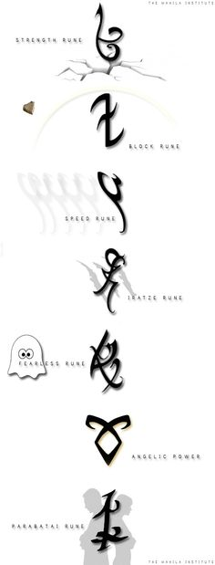 Runess Mortal Instruments Runes, Immortal Instruments, Shadowhunters The Mortal Instruments, Chasseurs D'ombres, Clockwork Princess, Malec, Cassie Clare, Alec Lightwood, Shadow Hunter Tattoo