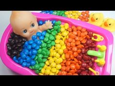 Learn colors BABY Ice Cream Popsicles - Ballpit Baby doll play | Colours for children Kids Toddlers - YouTube
