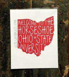 Ohio State University Print