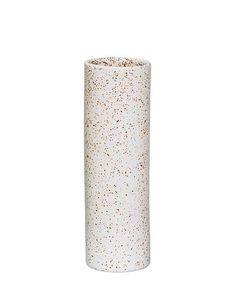Sui Vase weiß braun One Size