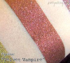 Fyrinnae - Velvet Vampire (Loose eyeshadow, swatched over Fyrinnae's Pixie Epoxy)