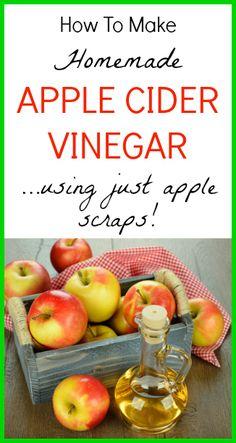 How to Make Apple Cider Vinegar - www.SeedsofRealHealth.com