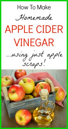 How to Make Apple Cider Vinegar - www.SeedsofRealHealth.com