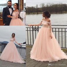 2017 Fall Winter Bridal Gowns Country Vintage Lace Applique Wedding Gowns Long Sleeve Bateau Backless Cheap Sexy Plus Size Wedding Dresses Sweetheart Neckline A Line Wedding Dress Wedding Bride Dresses From Faithfully, $155.78| Dhgate.Com