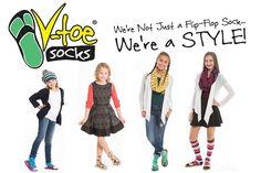 V-Toe Flip Flop Tabi Socks - Solids, Stripes & Patterns at Amazon Women's Clothing store: