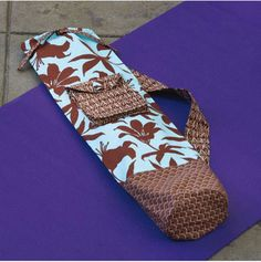 Yoga Mat Carrier Sewing Pattern Download - DOWNLOAD ONLY   sewandso