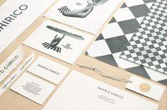 Identité visuelle pour la boulangerie Baker D. Chirico par Fabio Ongarato Design - Journal du Design