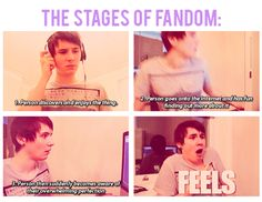 The Stages of Fandom.