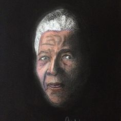Products by Anita Csernak (Kolormagic) Nelson Mandela, Portraits, Drawings, Painting, Products, Sketches, Head Shots, Painting Art, Draw