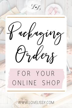 DIY Packaging Ideas for Online Orders! Consider using these shipping supplies for your Etsy packaging, jewelry packaging, and all your creative shipping packaging needs for shipping orders. # etsy packaging DIY Packaging Ideas for Online Orders! Pretty Packaging, Packaging Ideas, Packaging Supplies, Packaging Stickers, Craft Packaging, Design Packaging, Product Packaging, Craft Business, Creative Business