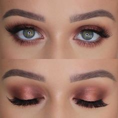 is some advice on eye makeup styles for you to try. Every girl loves to pla. -Here is some advice on eye makeup styles for you to try. Every girl loves to pla. - Step by Step Eye Makeup Tutorials! Eye Makeup For Green Eyes Natural Eye Makeup, Eye Makeup Tips, Hair Makeup, Makeup Ideas, Makeup Tutorials, Natural Prom Makeup For Brown Eyes, Makeup Inspo, Makeup Goals, Bridesmaid Makeup Natural