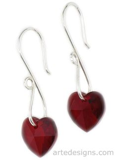 Crystal-Earrings - So simple. So elegant. Love the earwires!