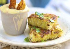 fiskepinner og potetchips