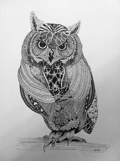 creamanufaktur: Zentangle-Zeichnungen
