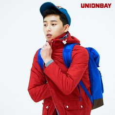 Park Seo Joon for UnionBay's Spring 2014 Ads