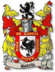 escudo garcia heraldica | más escudos