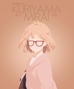 Kyoukai no Kanata minimalist #anime