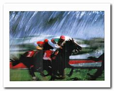 Bring home this beautiful western cowboy horse racing art print poster and add a beauty to your empty dull walls. It will be a perfect addition to any décor and goes well with any bright color finish wall. This wall poster captures the image of a cowboy and his horse crossing a dusty prairie of race course is sure to attract lot of attention especially for sports lover. It will be a great addition to any space. Grab this wonderful wall poster for its perfect quality and beautiful color…