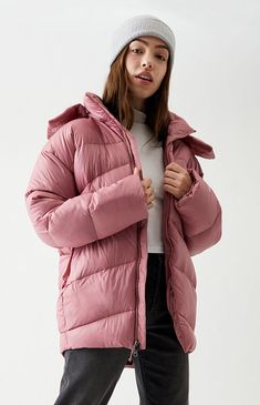 Kpop Fashion Outfits, Casual Outfits, North Face Women, The North Face, North Face Nuptse, Down Parka, Puffer Jackets, Pacsun, Kendall