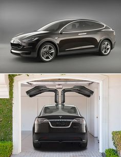 Tesla Model X  The electric Tesla Roadster got a lot of press and accolades for its incredible performance and engineering but with room for only two people and minimal cargo, its appeal was limited to pretty much just affluent bachelors or their affluent exes. Now Tesla has another model in the works that will work for the rest of us. The Model X is a compact, high-performance, crossover-style 4-door due out in 2014.
