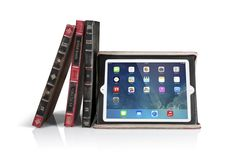 Amazon.com: Twelve South BookBook for iPad - Vintage leather case for 2nd, 3rd, and 4th generation iPad (vibrant red): Computers & Accessories