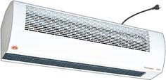 Kurtyna ADA - przystosowana do montażu nad drzwiami zewnętrznymi, nie posiada funkcji nagrzewania, dlatego ma swoje zastosowanie w chłodniach i pomieszczeniach klimatyzowanych.