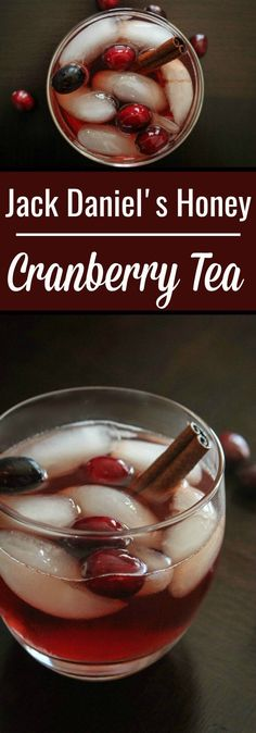 Jack Daniel's Honey Recipe : Jack Honey Cranberry Tea. The cinnamon stick and cranberry juice give this Honey Jack cocktail that seasonal taste.