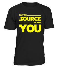 """# May The Source Be With You - Programmer & Scifi Geek T-Shirt .  Special Offer, not available in shops      Comes in a variety of styles and colours      Buy yours now before it is too late!      Secured payment via Visa / Mastercard / Amex / PayPal      How to place an order            Choose the model from the drop-down menu      Click on """"Buy it now""""      Choose the size and the quantity      Add your delivery address and bank details      And that's it!      Tags: Having access to…"""