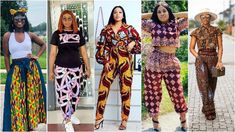 2021 Fashionable Ways to Wear Ankara Pants for Ladies