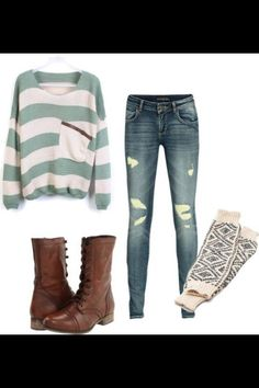 cute slouchy outfit