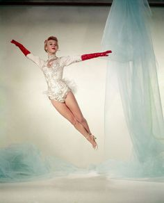 """Vera-Ellen in """"White Christmas"""". A great and I think quite underrated dancer."""