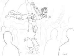 Hawke's arrival at Skyhold. <--- this is probably what happened!